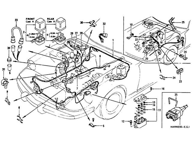 1990 240sx engine diagram